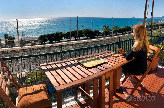 Panoramico fronte mare, grande e confortevole
