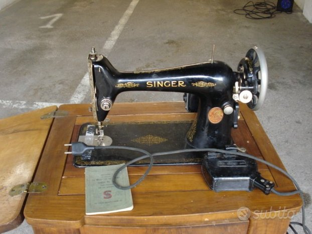 Macchina da cucire Singer 66 anno 1930