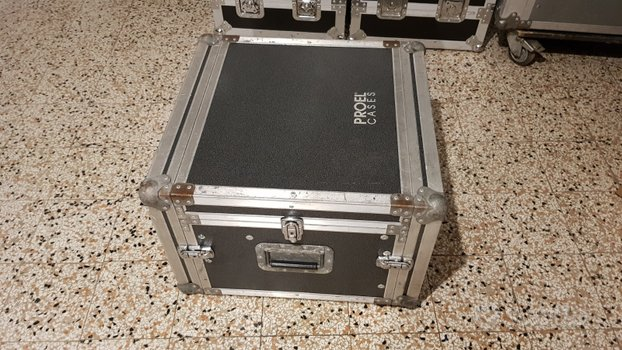 Rack case proel 5 unità + mixer