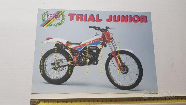 Fantic Motor Trial Junior 50 1986 depliant epoca