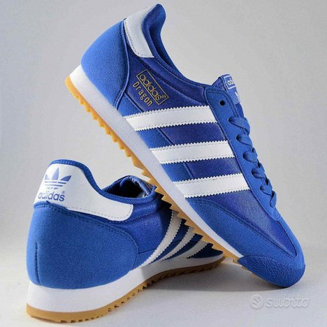 ADIDAS DRAGON OG blu sneakers ORIGINALI