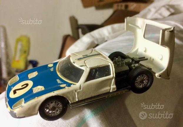 Ford gt 40 le mans solido serie 100 scala 1/43