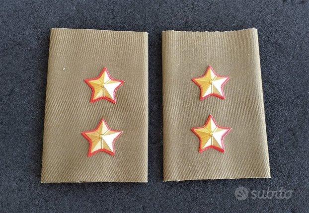 Gradi tubolari Tenente E.I. camicia e imperm.nuovi
