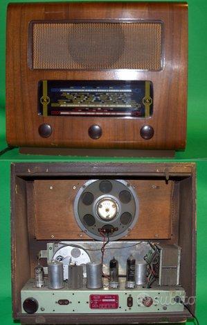Radio a valvole INVICTA model 15