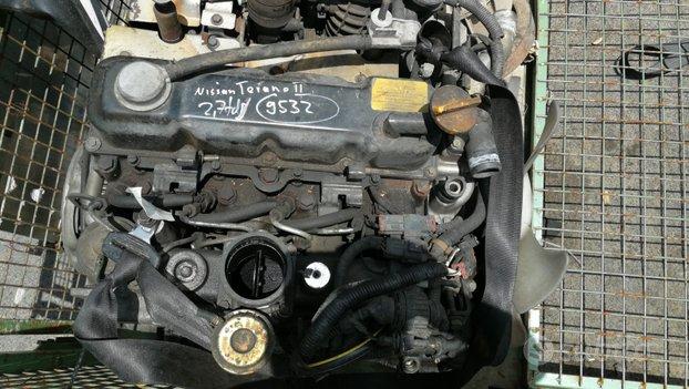 Motore nissan terrano ii sigla td27tt 92kw 125CV
