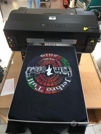 Stampante tshirt magliette dtg diretta