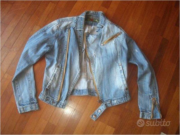 Giacca jeans nuova blue collection taglia s