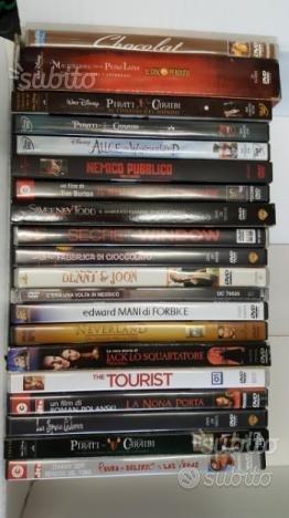 Collezione Film DVD Johnny Depp