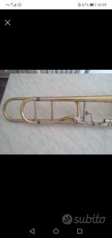 Trombone Courtois modello 420BOII