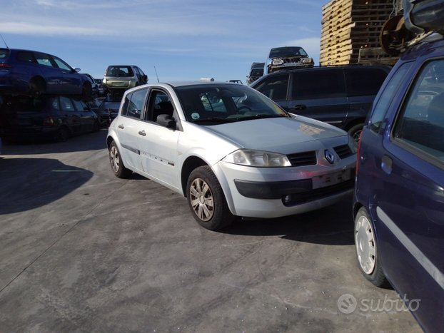 Renault megane 2004 -ricambi -porte muso stop