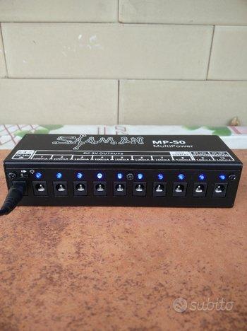 Alimentatore pedali effetti chitarra/basso Shaman