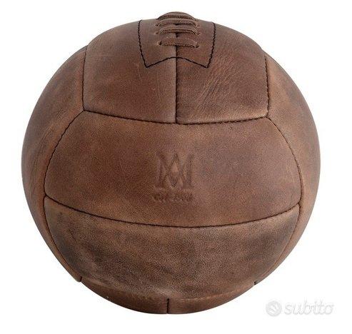 Pallone Cuoio Calcio Vintage