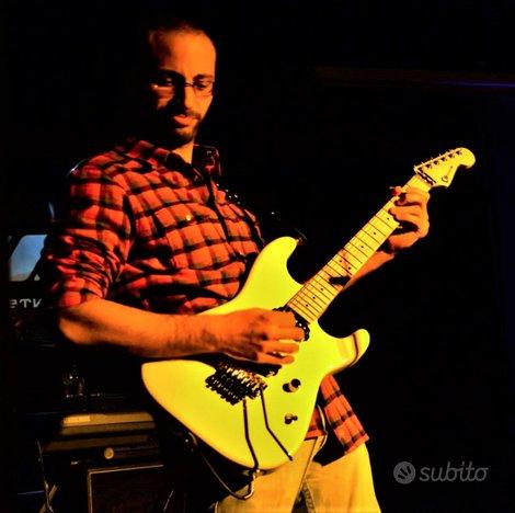 Lezioni di chitarra elettrica o acustica