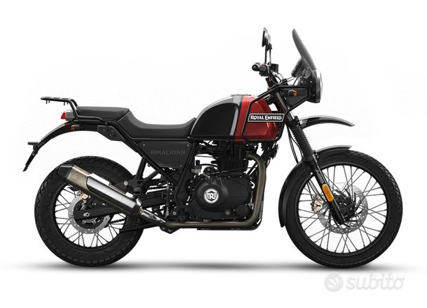 Royal Enfield Himalayan rosso/nero PROMO APRILE