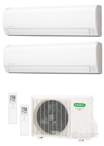 Climatizzatore Dual General Fujitsu