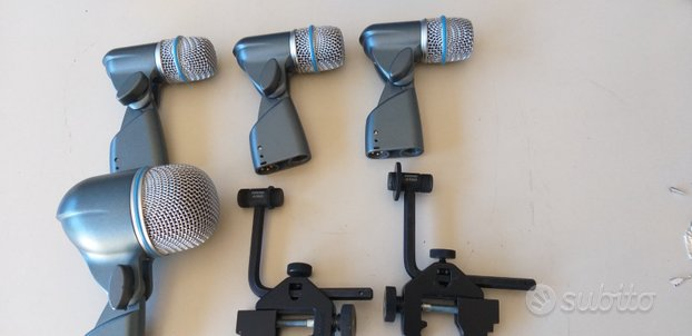Set microfoni Shure Beta per batteria