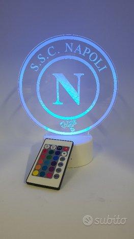 Lampada 3d Napoli Led RGB