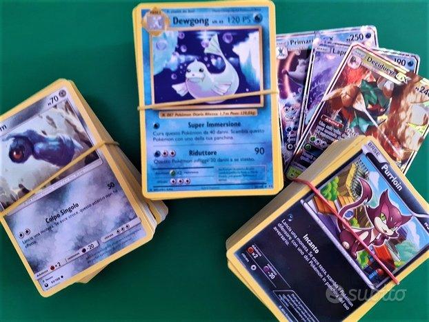 Pokémon GCC: 600 carte, più 8 GX EX V Prisma