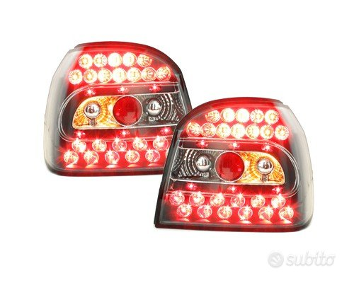 Fari Posteriori LED NUOVI VW GOLF 3
