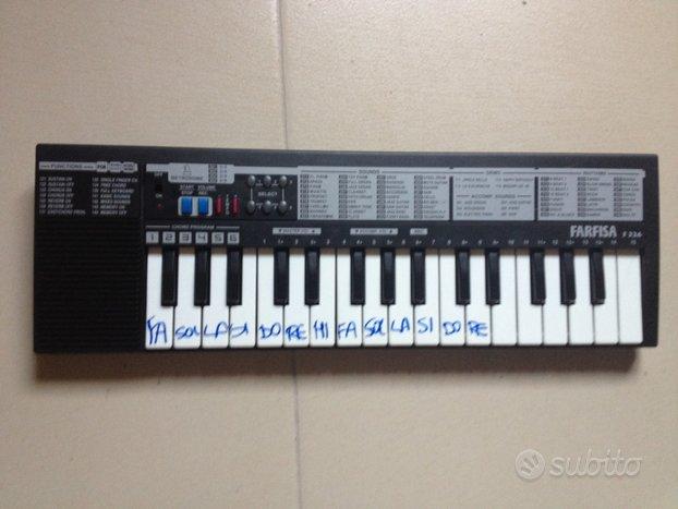 Pianola farfisa