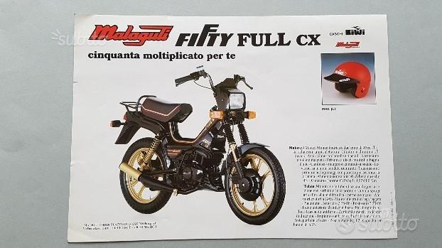Malaguti 50 Fifty HF 4M ed altri modelli depliant