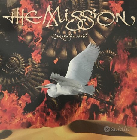 The mission-carved in sand