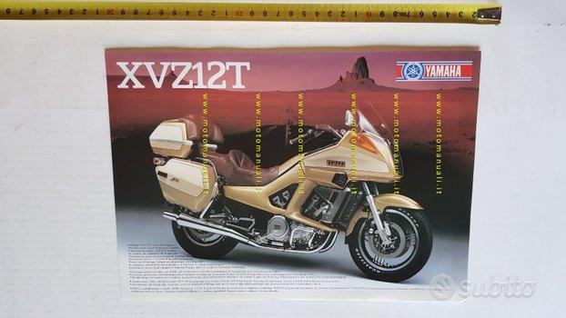 Yamaha XVZ 12 T 1984 depliant moto originale