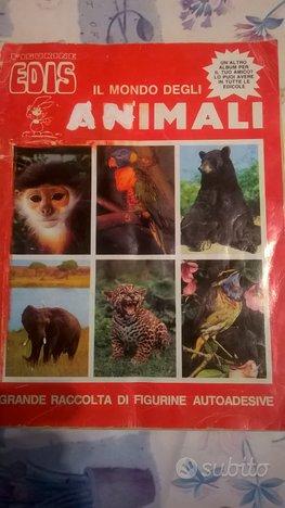 Album figurine Animali