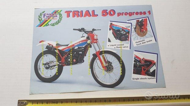 Fantic Motor Trial 50 Progress 1 1986 depliant ori