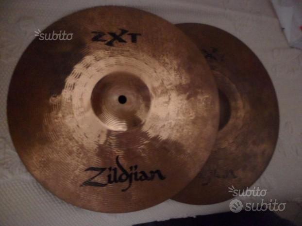 Zildjian ZXT set piatti:Rock Ride + hi hat + china
