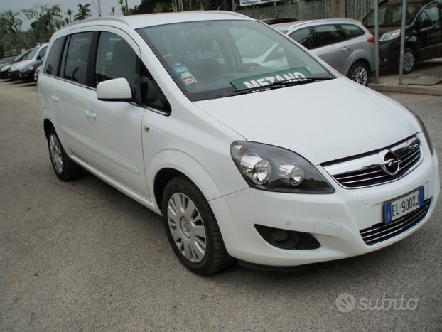 OPEL Zafira 1.6 eco M 150 CV TURBO - 2012