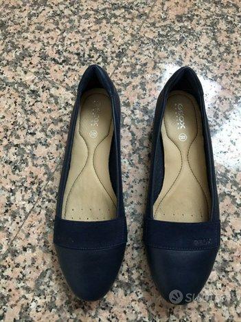 Scarpe basse Geox donna 38 1/2 blu