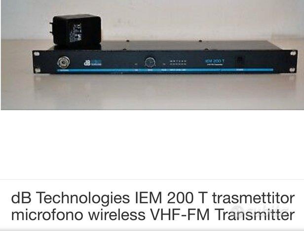 DB Technologies IEM 200 T