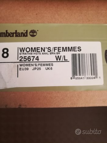 Tronchetto Timberland donna N° 39