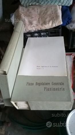 Planimetrie piano regolatore generale