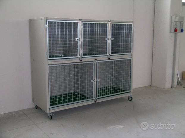 Gabbie degenza- box esposizione per cani e gatti