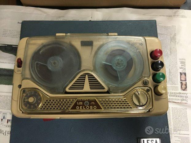 GELOSO mod. G.256 registratore a bobina
