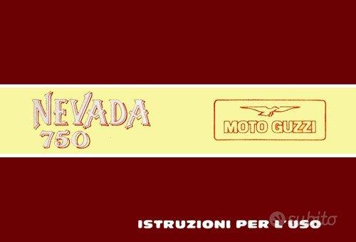 Moto Guzzi Epoca Libretto Uso e Manutenzione vari