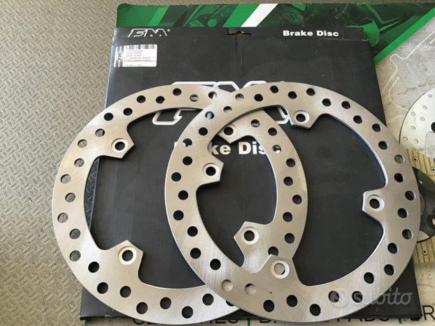 Coppia dischi freno anteriori transalp 600-650-700