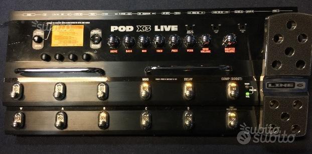 Pedaliera LINE 6 POD-X3 Live