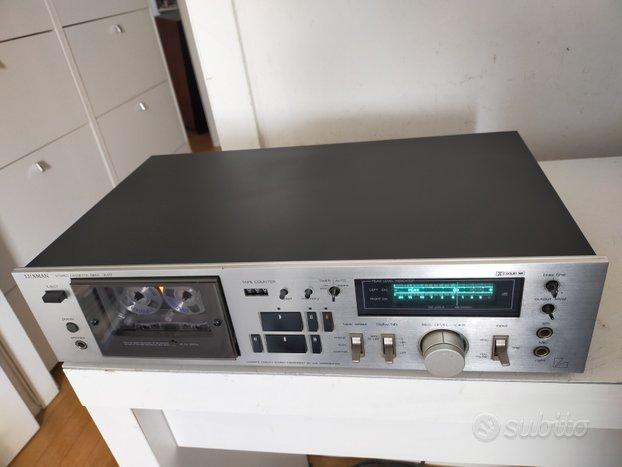 Piastra cassette Luxman K-117