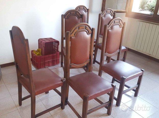 Sedie soggiorno legno - Arredamento e Casalinghi In ...