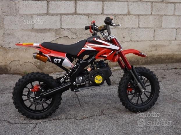 Pit bike 50 2 tempi rosso 10/10 - 2019