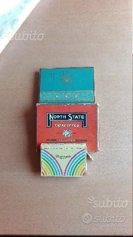 Scatole di sigarette da collezione