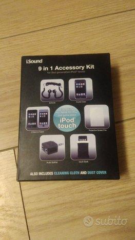 9 in 1 Accessory kit accessori iPod touch 2G 3G Dr