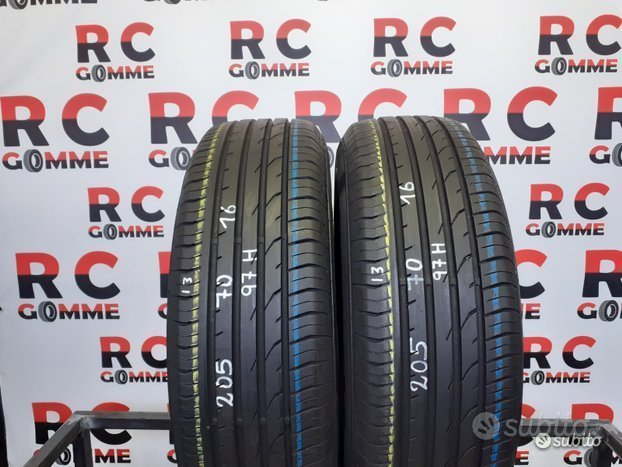2 Gomme Usate 205 70 16 97H Continental