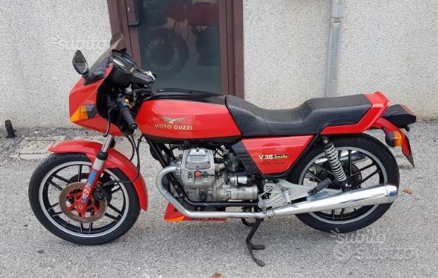 Moto Guzzi V35 Imola - 1980