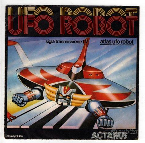 N.2 45 giri GOLDRAKE ATLAS UFO ROBOT