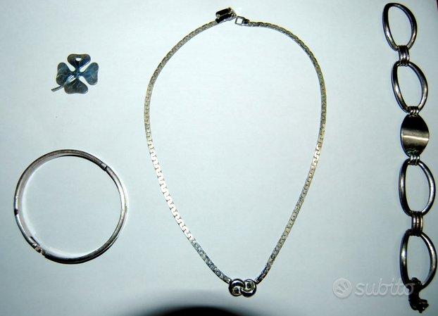 Gioielli vintage in argento