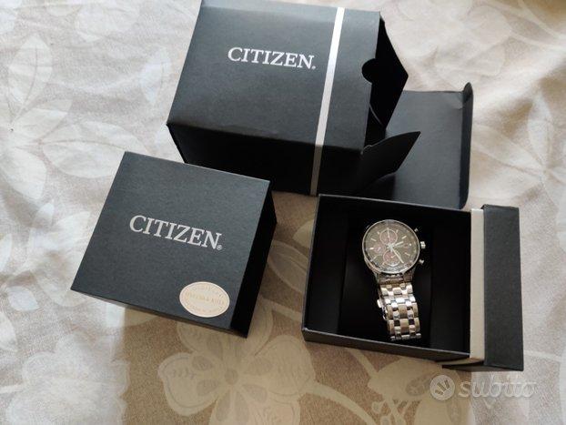 Orologio Citizen crono eco drive